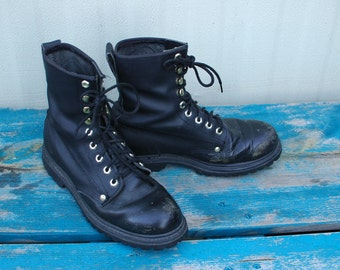 Black Work Combat Boots Gorilla  Men 7.5 Women 9