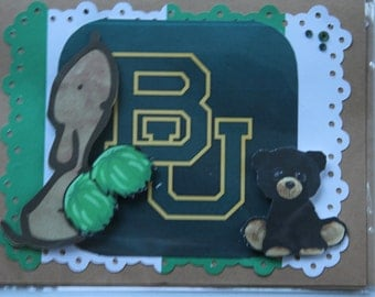 Baylor University Greeting Card-2