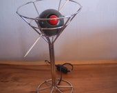MARTINI Table Lamp by David Krys With Light Up Olive Pimento 1993 - Barware, Novelty