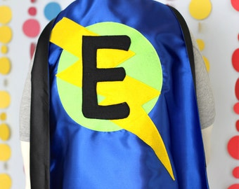 As seen on Cool Mom Picks - Superhero Cape for Kids - Personalized - Boy Birthday Gift or Super hero party cape - Customized Kid Costume
