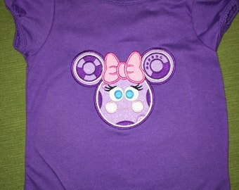 Applique tee size 3T Mouse Tool