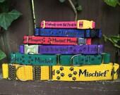 Mischief Makers Dog Collars