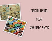 Special Listing for Sew.Tastic Shop