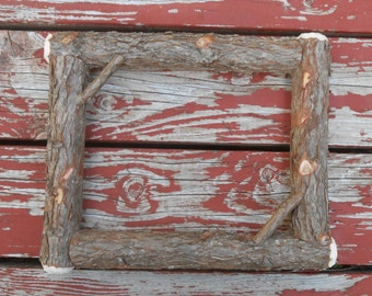 Rustic Picture Frames Cedar Bark Natural Woodland Home Decor Family Photos Twig Accents Wholesale Inquiry's Accepted