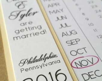 Calendar - Save the Date - Pack of 10