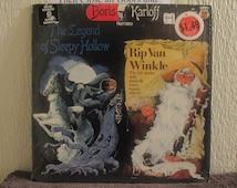 Boris Karloff vinyl record - Original - Narrates The Legend of Sleepy Hollow and Rip Van Winkle Vinyl - In Shrink Wrap - in Mint Condition