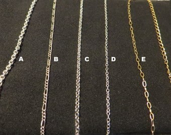 Gold chains (customizable)
