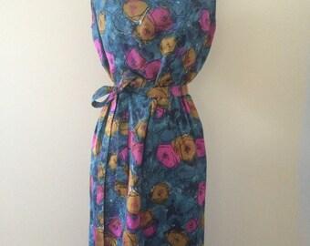 Vintage 1960's Mod Women's Dress