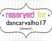 dancarvalho17: Payment for Custom Seaside Beach Place Cards