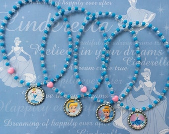 Cinderella Stretch Necklaces Set of 8