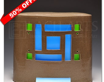 50% OFF - Craftsman-Style LED-Illuminated Lantern