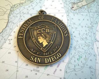 Festival of Fashions Medal CCA San Diego CA Affiliate no. 20