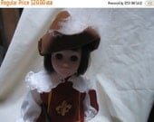 Valentines Sale Vintage Effanbee Three Musketeers Character Doll, collectable