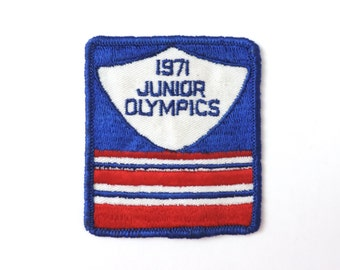1971 Junior Olympics Patch