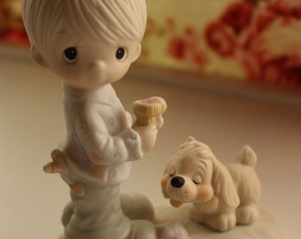 Precious Moments Figurine Praise The Lord Anyhow