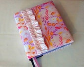 Reserved Custom Listing for shellysuee Ruffled Journaling Bible Cover