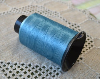 Cord Thread Turquoise Blue 3-ounce Spool Nymo® Nylon 100-foot Imitation Silk