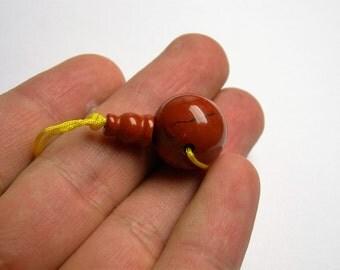 Guru beads - Red jasper - 16mm - 1 set - RFG1067