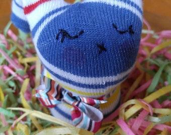 Sammy the sock bunny
