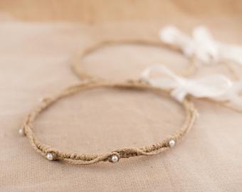 STEFANA Wedding Crowns - Orthodox Stefana - Bridal Crowns EKAVI - One Pair