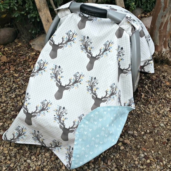 Like this item? & Car Seat Cover Baby Car Seat Cover Antler Baby Cover Boy