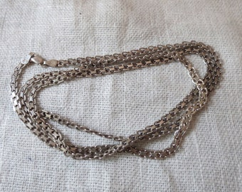 """Bismarck Necklace 4mm Quality Italy 30"""" 17g"""