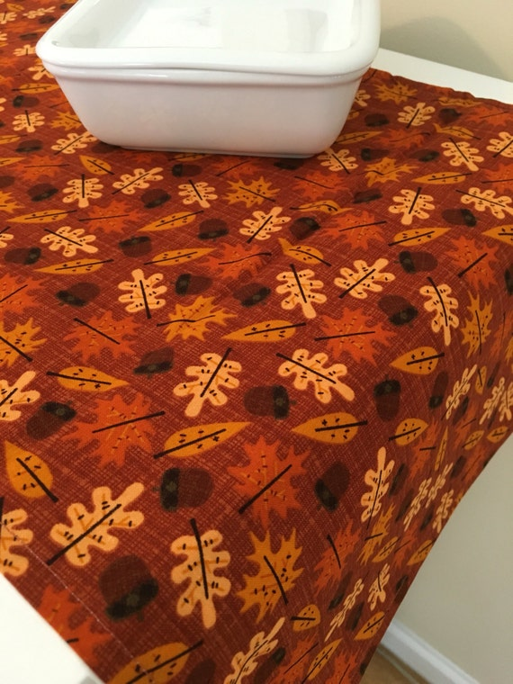 Made To Order Tablecloth | Fall | Round; Choice Of Fabric