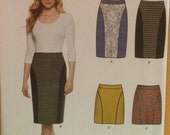 Simplicity New Look Sewing Pattern 6312 Ladies Misses Slim Skirt Two Lengths Size 8-20 New Uncut Factory Fold