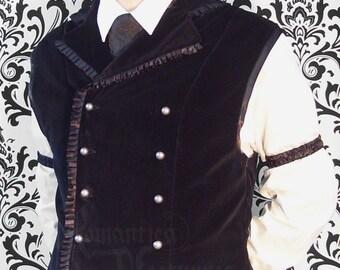 Brocade sleeve garters for men