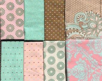 Tula Pink Hushabye 8 piece set OOP VHTF Please Read