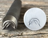 Mountains Metal Stamp-Choose Size 3/8,  1/2 or 5/8  inch-Advantage Series-Professional Quality-Great on Stainless-Deep and Sharp Impression