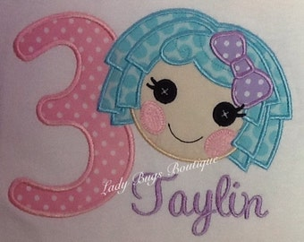 Lalaloopsy Birthday Shirt*****Please Read Shop Announcement*****