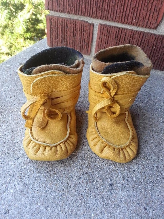 Authentic Handmade Baby Moccasins Wrap By Cultureshockjewelry
