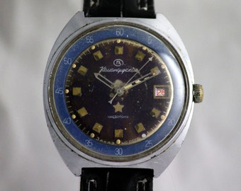 VOSTOK(Wostok) KOMANDIRSKIE Chistopol MILITARY SERViCED watch Luminescent Dial made in USsR