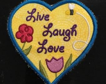 Live, Love,Laugh Magnet