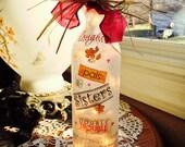 Sister,sisters,sistergift,wine bottle light,wine bottle lights,lighted bottles,wine bottle lamp, lighted bottles,wine decor,lamp,lamps