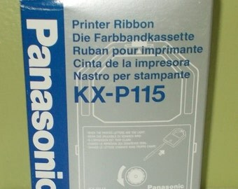 Panasonic Printer Ribbon KX-P115 for Dot Matrix, New Old Stock  FREE SHIPPING!!!