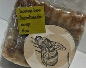 Honey Bee handmade soap
