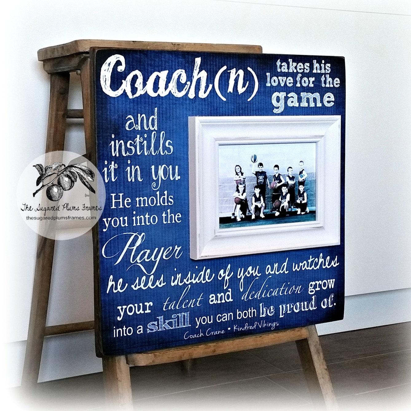 Basketball Coach Gift Coach Gift Idea Soccer Coach
