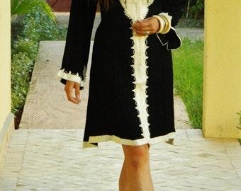 CIJ Sale Spring Clothing Black Marrakech Dress - for resort wear, holidays, birthday gifts, resort wear, holiday shopping, wedding