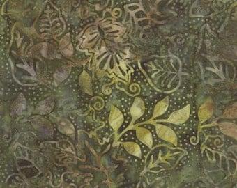 Sticks and Stones Batik Fabric from Moda - Shrub Algea