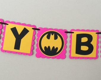 Batman Pink and Yellow BEST DEAL PACKAGE Batgirl
