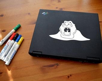 "Aladdin ""Cave of Wonders"" Laptop / Window Sticker"