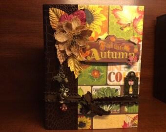 Autumn Memories Handmade Interactive Photo Album