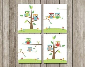 Printable Art: Skip Hop Owls