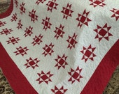 Quilt Custom listing for dishgal Gray and White Ohio Star FULL Final Payment