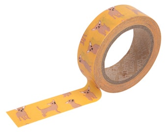 31 Chihuahua Washi tape -puppy washi-craft supplies-card making- party supplies- planner washi-dog stickers- pets-Love My Tapes-Dailylike