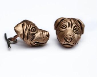 Rottweiler cuff links