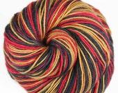 49ers Superwash Merino/Nylon self-striping fingering/sock yarn