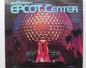 "Rare ""Walt Disney World Epcot Center"" Vinyl Soundtrack (1983) - Excellent Condition"